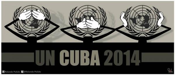 UN Cuba Poster